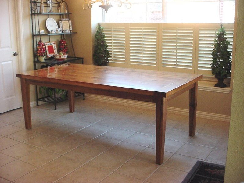 42 x 84 inch table
